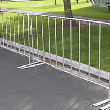 Temporary Fence Crowd Barriers Coeur American On
