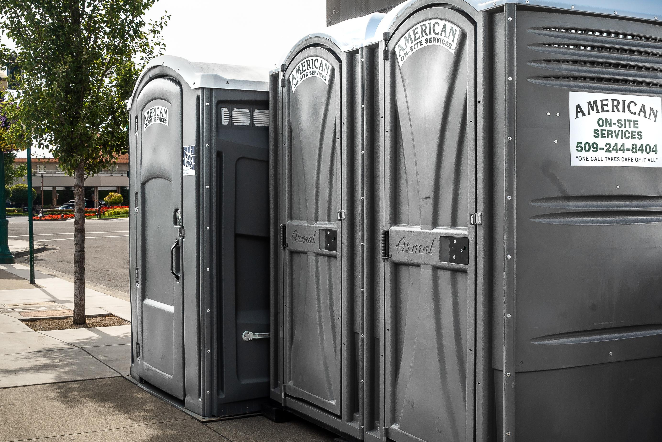 Porta Potty Rental in Spokane & Coeur…   American On-Site